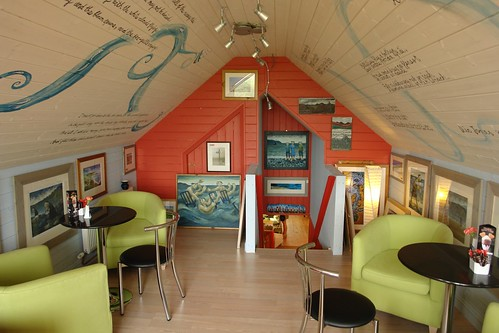 Tir A Mor cafe/art gallery, Borth - interior | by peterwr