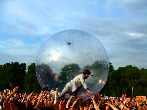 Flaming Lips – Wayne Coyne in the Zorb | by World of Good