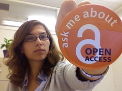 Ask me about Open Access | by mollyali