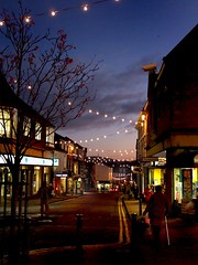 December Dusk Macclesfield High Street | by Peter Juerges