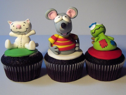 Toopy and Binoo Cupcakes | by clevercupcakes
