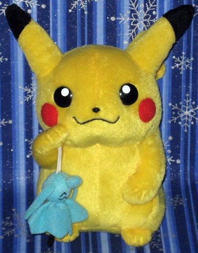 monthly pikachu amp wynaut terubouzu company pokemon