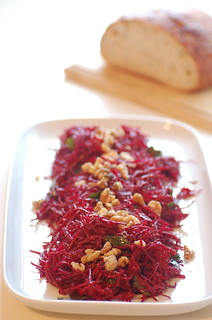 raw beet salad | by jules:stonesoup