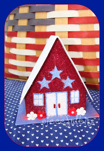 ***Patriotic Glitter Cottage*** | by skybluecrayons
