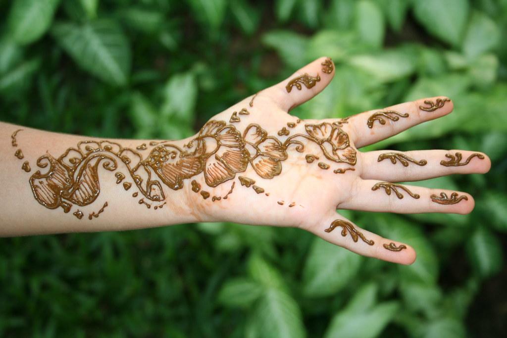 Mehndi Design Floral Mehendi Design The Henna Leaves Ar Flickr