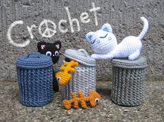 Alley Cats Crochet Pattern | by stripeyblue