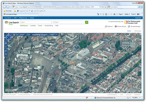 Bird's Eye Imagery for Amsterdam in Live Search Maps | by Erwyn van der Meer