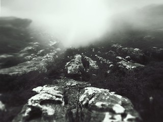 Misty Mountain Rocks | by LaBetenoir