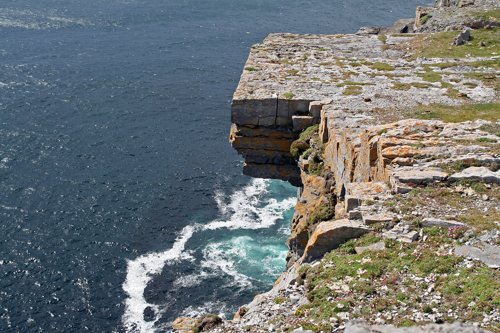 ireland water with rock formations best places to visit in europe