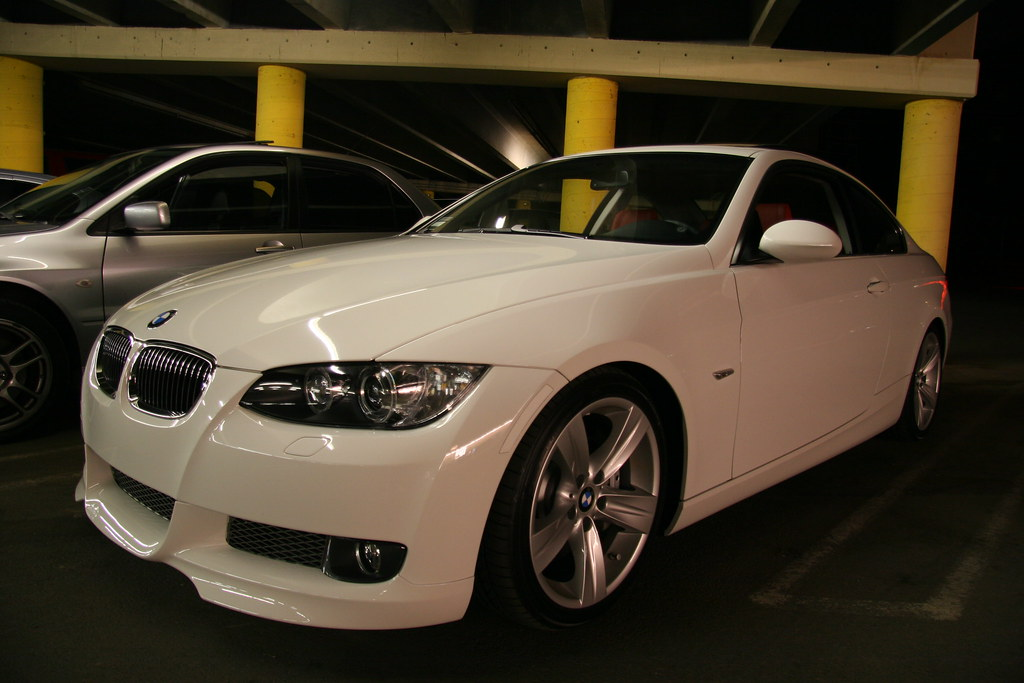 Alpine White BMW I Coupe MT BMW I Coupe M Flickr - Bmw 335i 2008 coupe