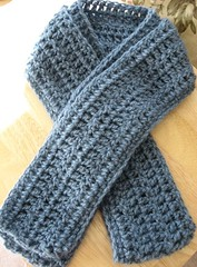 finished Asheville scarf | by Crafting with Cat Hair