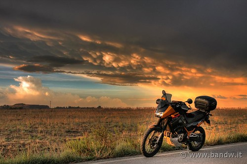 On the road - SP57 - Sunrise (HDR) | by -Bandw-