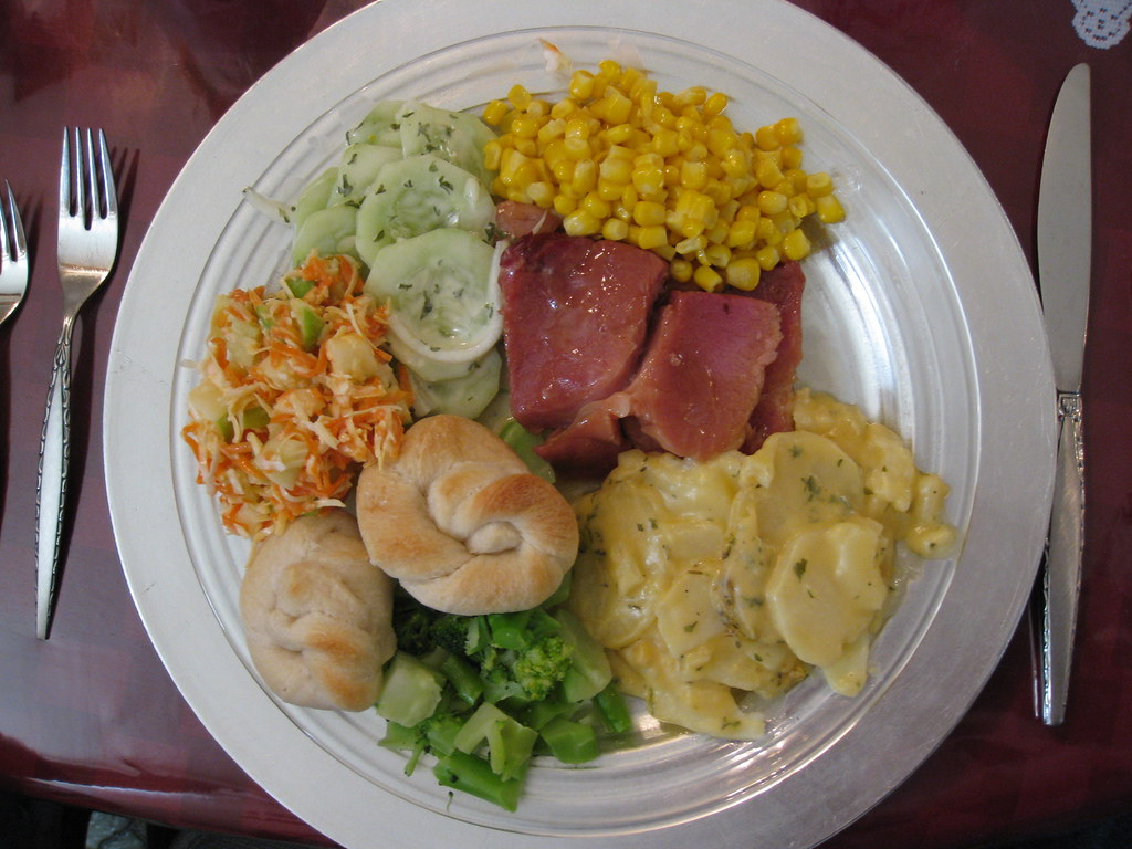 ... My Christmas dinner plate   by daveynin & My Christmas dinner plate   Here is what I have on the plateu2026   Flickr