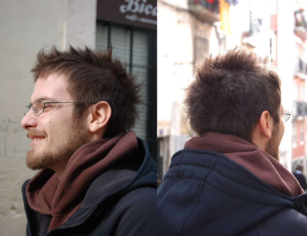 Spiky Haircut Male Haircut By Ins Wip Hairport Flickr