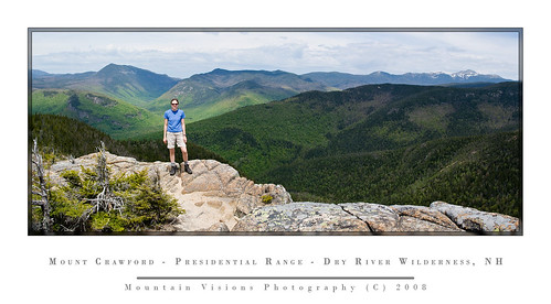 Panorama From Mt Crawford, New Hampshire | by Mountain Visions
