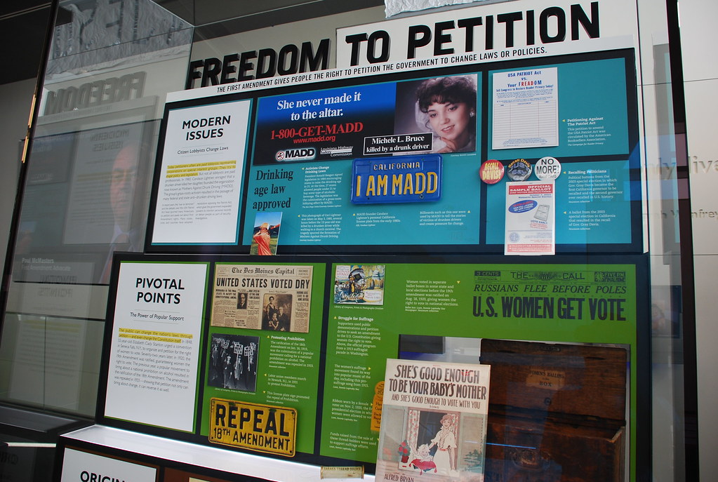 First Amendment Freedom Of Petition