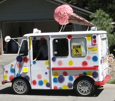 ice cream truck summer in lake tahoe sounds like ice cream