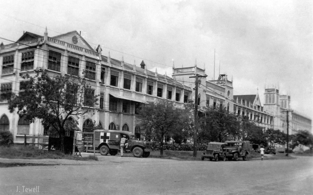 San Beda College, (El Colegio de San Beda) 1945 | Original p… | Flickr