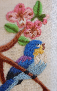 Embroidered Bird 1 | by hurrayic