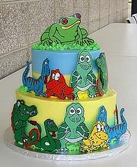 Reptile Cake Pan