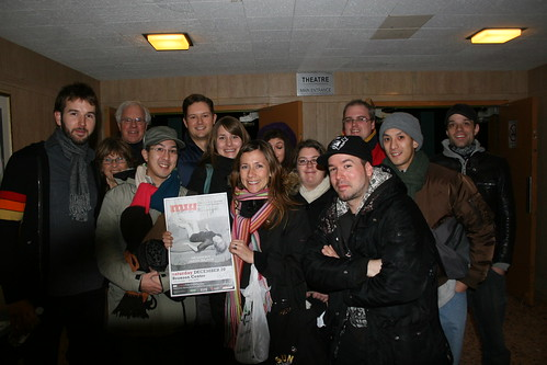 With Amanda Putz, Jason Bajada and Winners from R3 Martha Wainwright Concert Tickets for Ottawa. | by Lenny W.