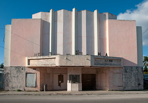 Art Deco Florida Movie Theater | by Bob Jagendorf