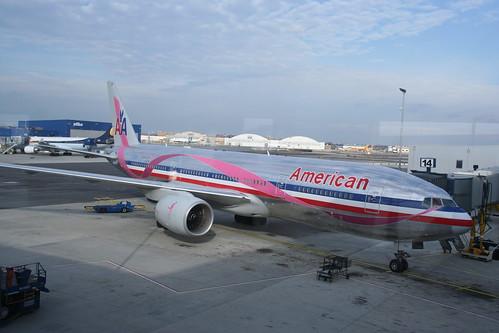 American Airlines Breast Cancer Plane Samuel Globus Flickr
