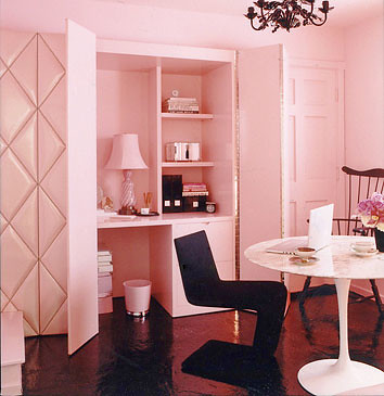pepto pink office | by coco+kelley
