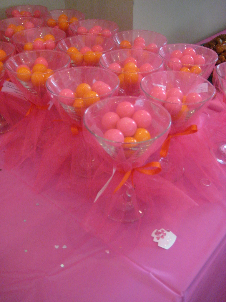 Pink & Orange Favors | \