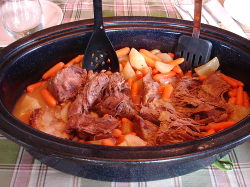 Pot Roast Just Out of the Oven | by Merelymel13