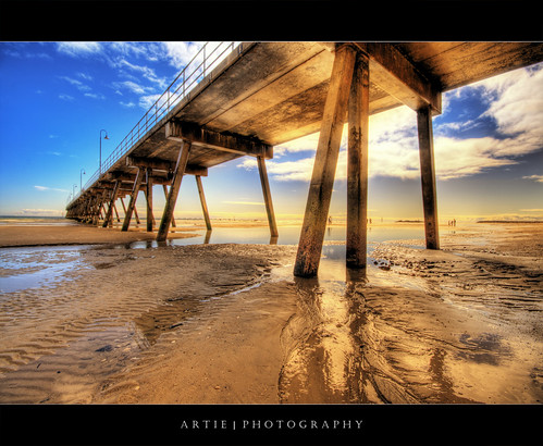 Walking Under the Golden Jetty :: HDR | by :: Artie | Photography :: Travel ~ Oct