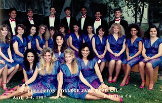 Dana Hills High School Jazz Choir - Fullerton College Jazz Festival - Serious Version - April 3 1987 | by kimstrezz