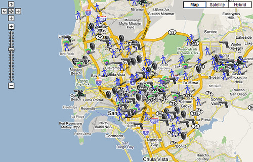 San Diego Crime Map   You think it is safe?   George Yang   Flickr