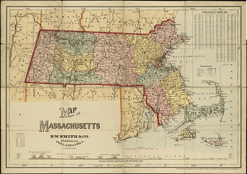 Map of Massachusetts | by Norman B. Leventhal Map Center at the BPL