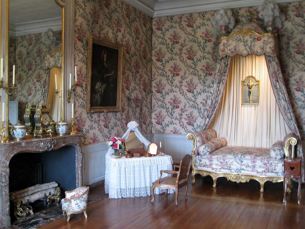 Louis Xv Bedroom Furniture Louis Xv Bedroom Chateau Vaux Le Vicomte France Nicola Flickr