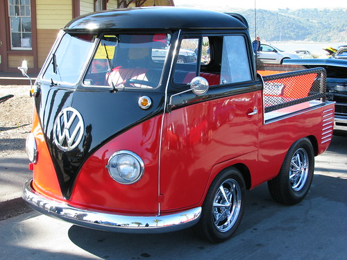 1960 Volkswagen Truck Custom Vw Dwarf 1 Photographed