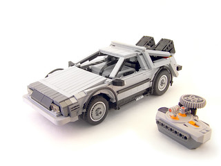 RC Delorean time machine | by Legohaulic