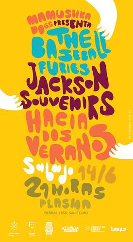 The Baseball Furies + Jackson Souvenirs + Hacia Dos Veranos | by Mamushka Dogs
