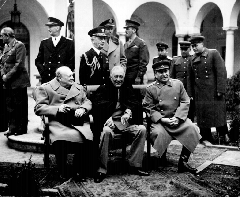 Conference Of The Big Three At Yalta Conference Of The Bi Flickr