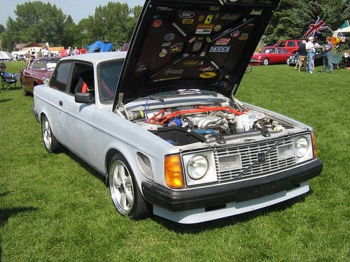 Volvo With A Ford V8 Swapped In Volvo With A Ford V8