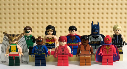 Justice League Minifigs | by levork