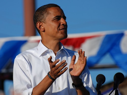 Barack Obama in Pueblo, Colorado | by fairangels