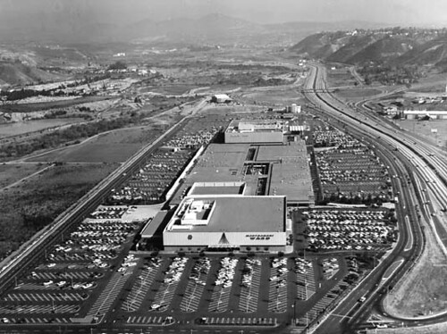 Mission Valley Center Grand Opening Day 1961 This Is