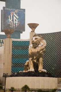 Snowy MGM Lion | by Topher.Pettit