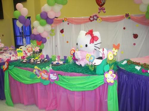 Hello Kitty Birthday Party Decorations Rosie B Flickr