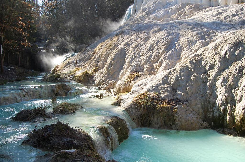 Bagni San Filippo (SI) - le sorgenti calde del Fosso Bianc… | Flickr
