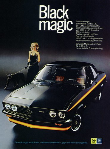 Opel Manta A (1975) GTE Black Magic | Schwarze Magie ...
