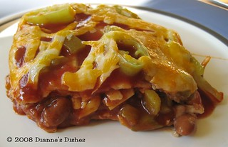 Mexican Lasagna: A Slice | by Dianne's Dishes