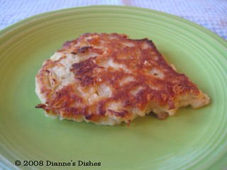 Dill and Cheddar Potato Cakes | by Dianne's Dishes