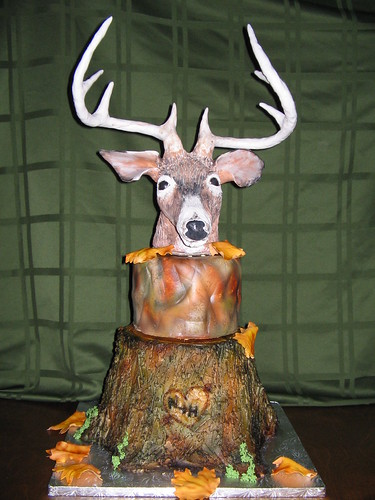 Deer Head Cake Pan